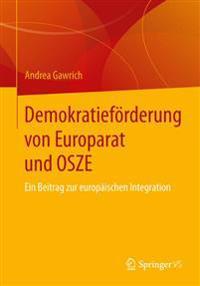 Demokratief rderung Von Europarat Und Osze