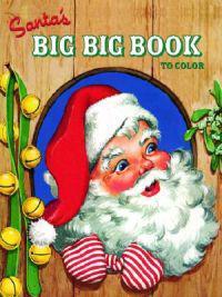 Santa's Big Big Book to Color