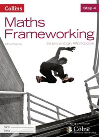 Maths Frameworking -- Step 4 Intervention Workbook [Third Edition]