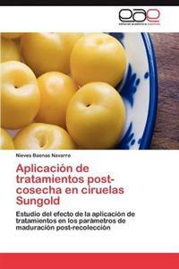 Aplicacion de Tratamientos Post-Cosecha En Ciruelas Sungold