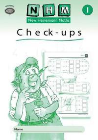 New Heinemann Maths Yr1, Check-up Workbook (8 Pack)