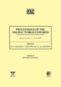 Proceedings of the 15th Ifac World Congress Vol Daptimal Design