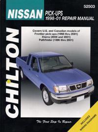 Chilton's Nissan Pick-ups 1998-04 Repair Manual