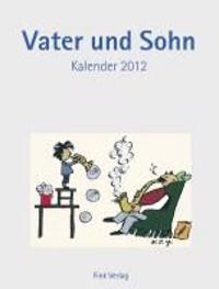 Vater und Sohn 2012. Kunst-Einsteckkalender