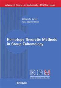 Homotopy Theoretic Methods in Group Cohomology