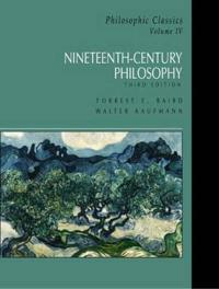 Nineteenth-Century Philosophy