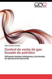 Control de Venta de Gas Licuado de Petroleo