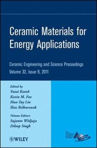 Ceramic Materials for Energy Applications