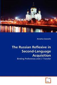 The Russian Reflexive in Second-Language Acquisition