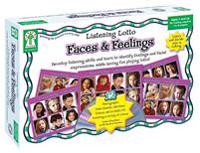Faces and Feelings: Develop Listening Skills and Learn to Identify Feelings and Facial Expressions, While Having Fun Playing Lotto!