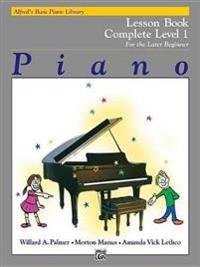 Alfred's Basic Piano Course Lesson Book: Complete 1 (1a/1b)