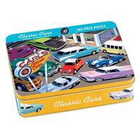 Classic Cars 100 Piece Puzzle Tin