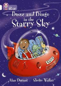 Buzz and bingo in the starry sky - band 10/white