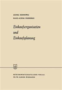Einkaufsorganisation Und Einkaufsplanung