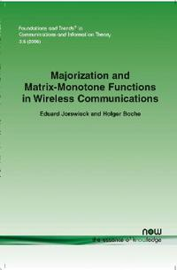 Majorization and Matrix-monotone Functions in Wireless Communication