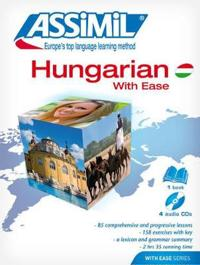 Pack CD Hungarian with Ease (Book + CDs): Hungarian Self-Learning Method