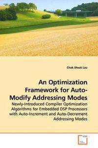 An Optimization Framework for Auto-modify Addressing Modes