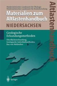 Altlastenhandbuch des Landes Niedersachsen. Materialienband