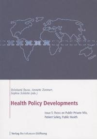 Health Policy Developments
