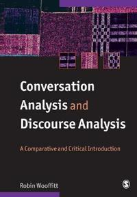 Conversation Analysis And Discoursse Analysis