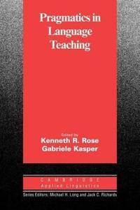 Pragmatics in Language Teaching