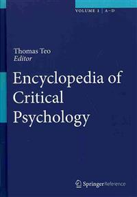 Encyclopedia of Critical Psychology