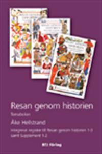 Resan genom historien : historiska romaner och berättelser : Temaboken : integrerat register till Resan genom historien 1-3 samt Supplement 1-2