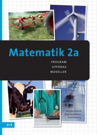 Matematik 2a - program, uppdrag, modeller