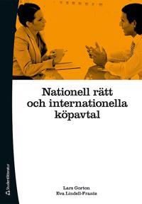 Nationell rätt och internationella köpavtal