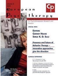 European Psychotherapy 2010
