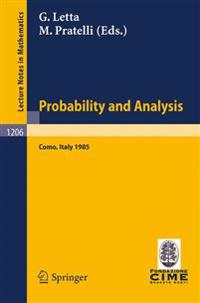 Probability and Analysis