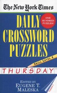 New York Times Daily Crossword Puzzles (Thursday),