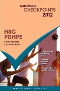 Cambridge Checkpoints HSC Personal Development, Health and Physical Education 2012