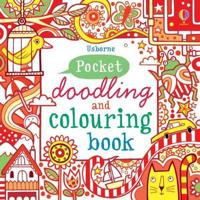 Red Pocket DoodlingColouring Book