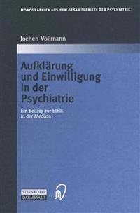 Aufkl rung Und Einwilligung in Der Psychiatrie