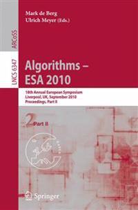 Algorithms -- ESA 2010, Part II
