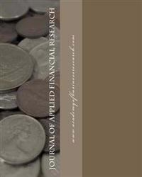 Journal of Applied Financial Research Volume I 2011