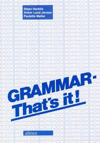 Grammar - that's it!