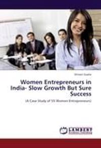 Women Entrepreneurs in India-  Slow Growth But Sure Success