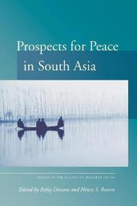 Prospects for Peace in South Asia