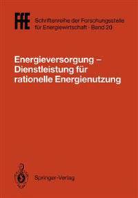 Energieversorgung- Dienstleistung fur Rationelle Energienutzung