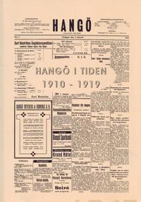 Hangö i tiden 1910-1919