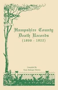 Hampshire County Death Records 1866-1922