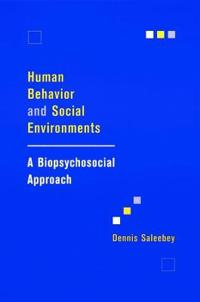 Human Behavior and Social Environments