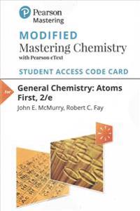 New Masteringchemistry with Pearson Etext -- Standalone Access Card -- For General Chemistry: Atoms First