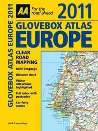 AA Glovebox Atlas 2011 Europe