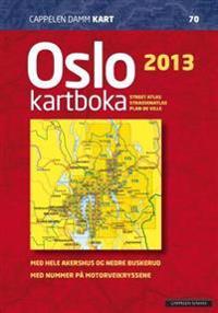 Oslokartboka 2013; med hele Akershus og nedre Buskerud