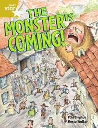 Rigby Star Guided 2 Gold Level: The Monster is Coming Pupil Book (single)