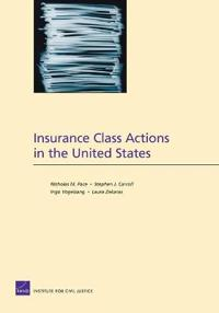 Insurance Class Actions in the United States
