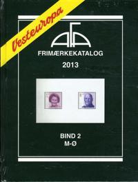 AFA Vesteuropa frimærkekatalog-M-Ø